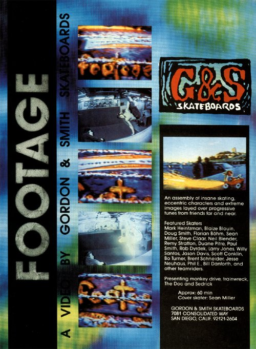 Footage, G&S (1990)