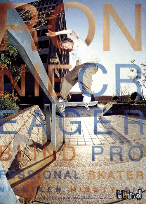 Ronnie Creager, Blind (1996)