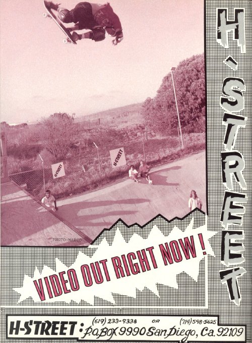 Video Out Now, H-Street (1989)